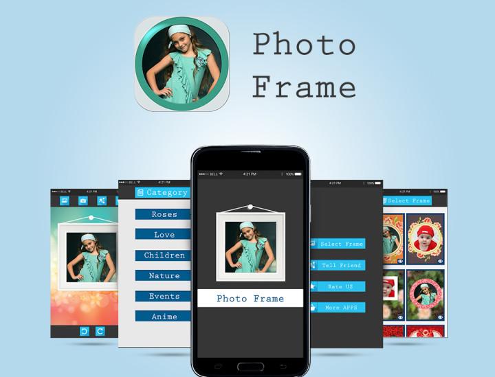 تطبيق اطارات الصور