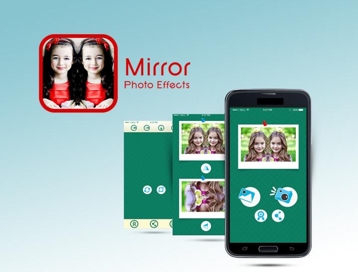 تطبيق انعكاس الصورة